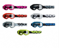 New 2020 Youth Kids Fly Focus Goggles Motocross Enduro ATV Downhill All Colours